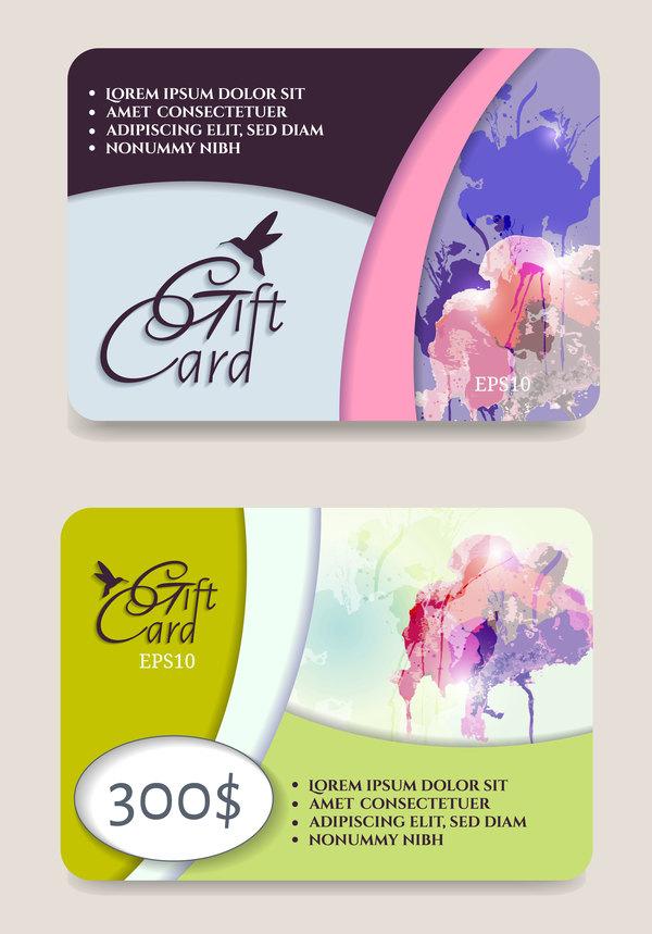 、カード、クーポン、ギフト コレクション