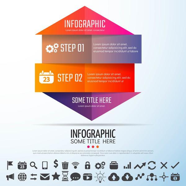 infographie Couleur bannières