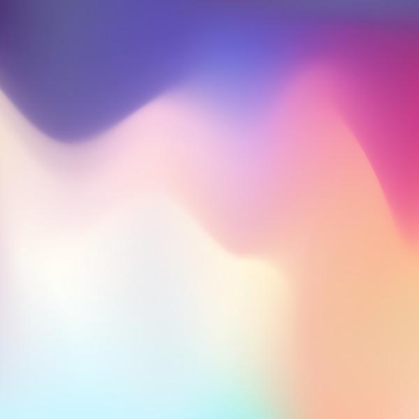 Estompée effet de couleur bright