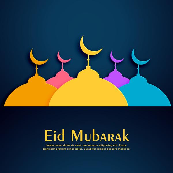 Mubarak färgade Eid