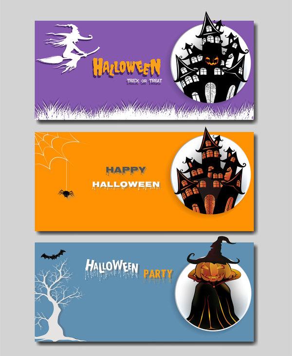 halloween Couleur Bannière