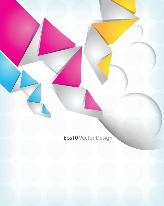 origami moderne colore