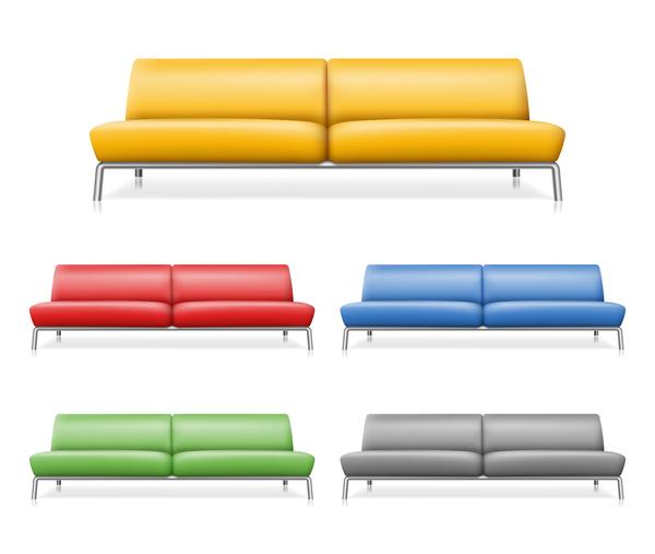 sofa farbig