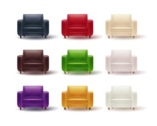soffa färgade