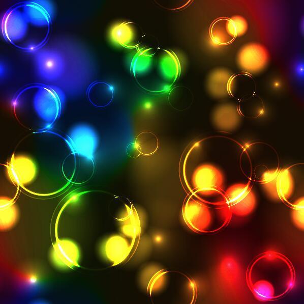 transparent colore bulles