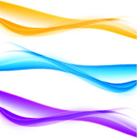 、色、線、波状