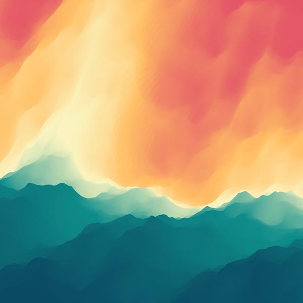 floue colore Aquarelle