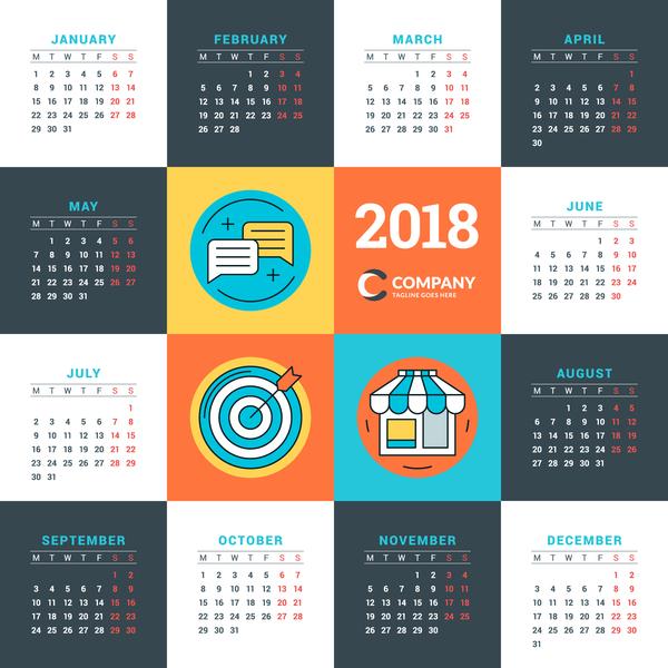 calendario Azienda 2018