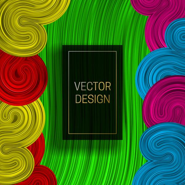 concetto astratto colorato
