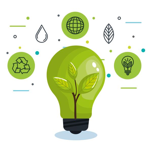 生態学 環境 コンセプト インフォグラフィック