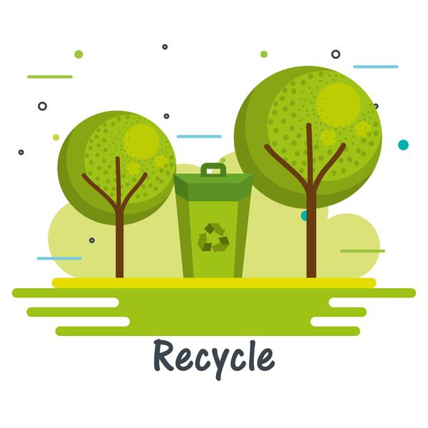 、コンセプトは、エコロジー、環境、インフォ グラフィック