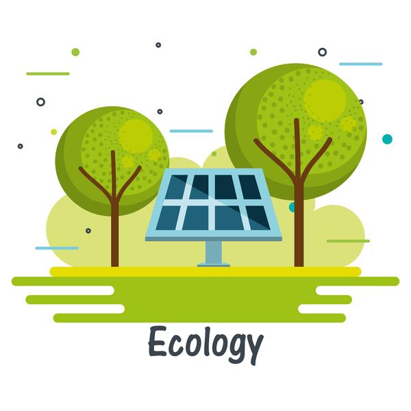 Umwelt Ökologie Konzept Infografik