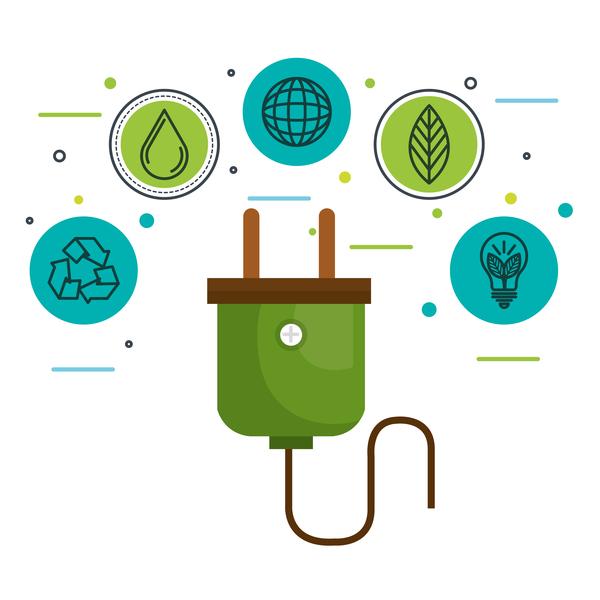infographie environnement écologie concept