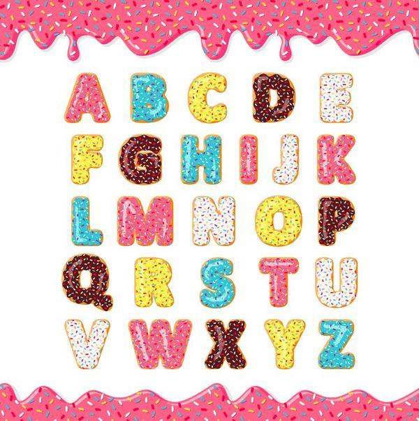 biscotti Alfabeto