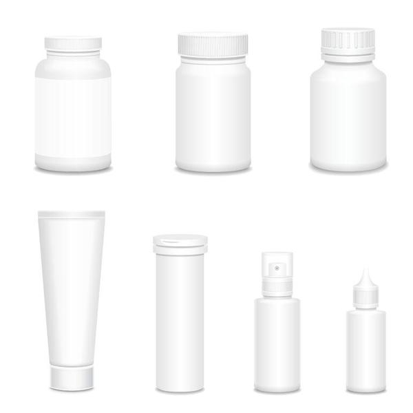 cosmetiche bottiglie backage