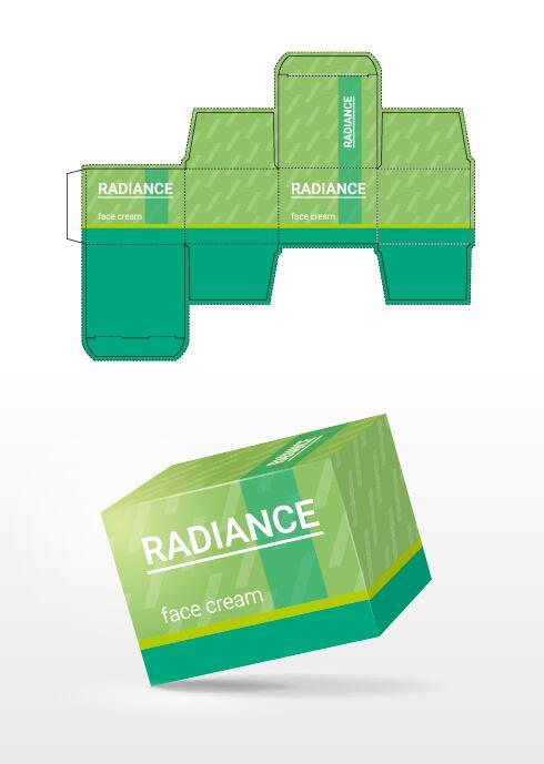 kosmetiska förpackning box