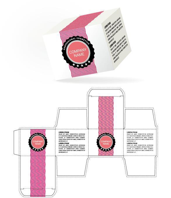 emballages cosmétique boîte