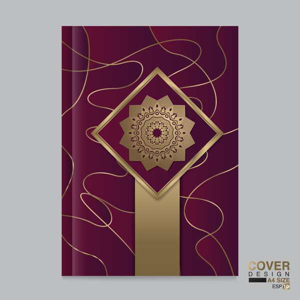 magezine copertina di libro