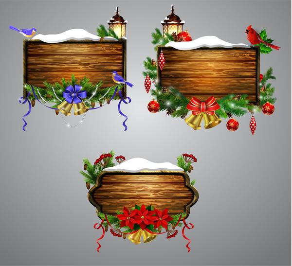 Noel en bois cadre créatif