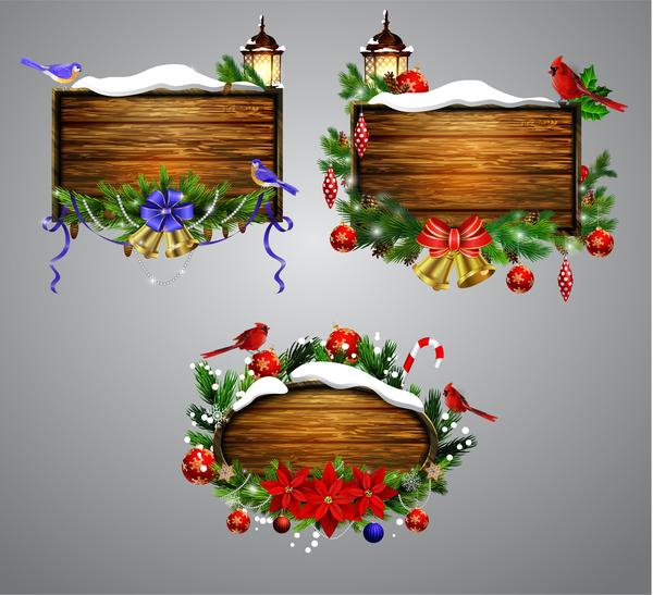 trä ram Kreativ jul