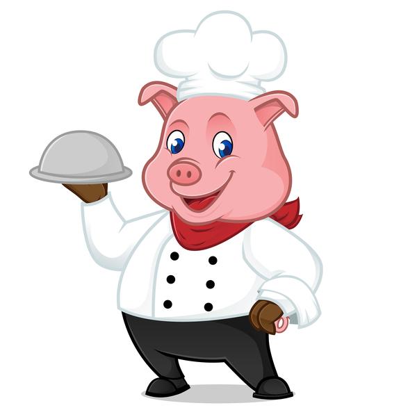 豚 漫画 シェフ かわいい