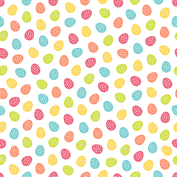 Ostern nahtlose Muster cute