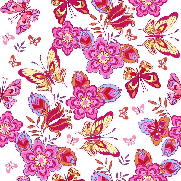 weiß Schmetterlinge Rosa cute