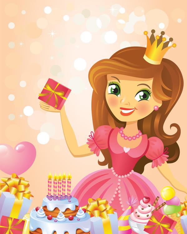 princesss happys födelsedagar Cutes