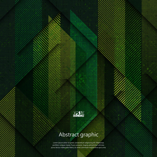 textures modèle géométrique dark