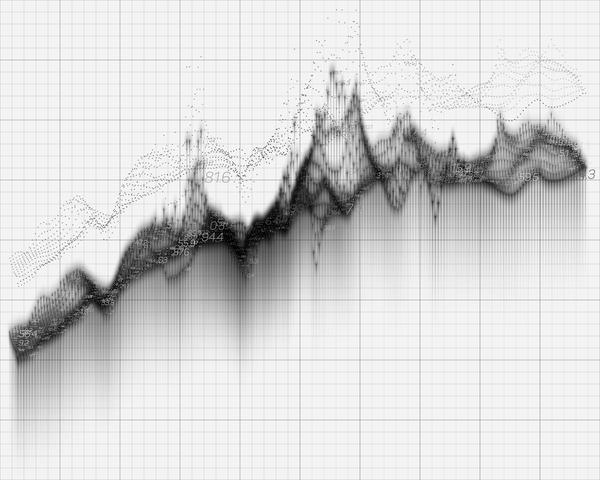 graphiques de la courbe données