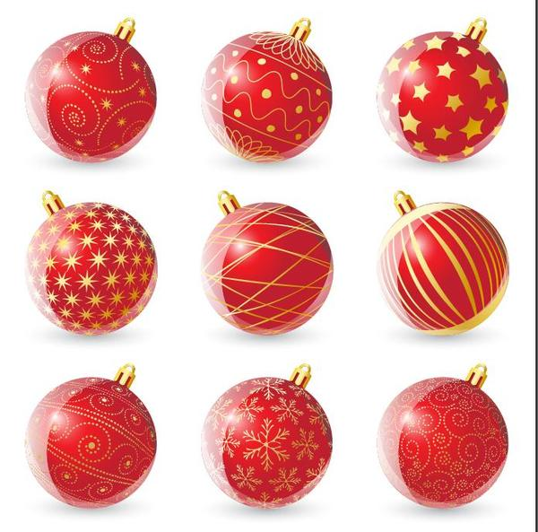 Noel decoration boules