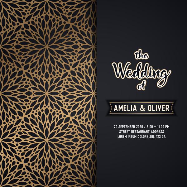 Muster Karte Hochzeit Einladung Dekor