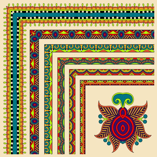 hornet gränsar etniska dekorativa