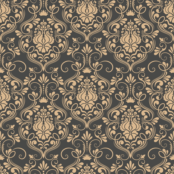 seamless pattern decorative damask