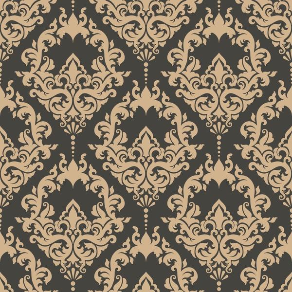 seamless pattern decorative damask