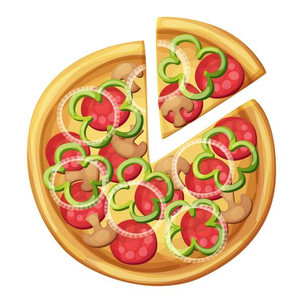 ピザ おいしい