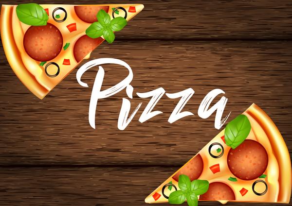 pizza in legno Deliziosa