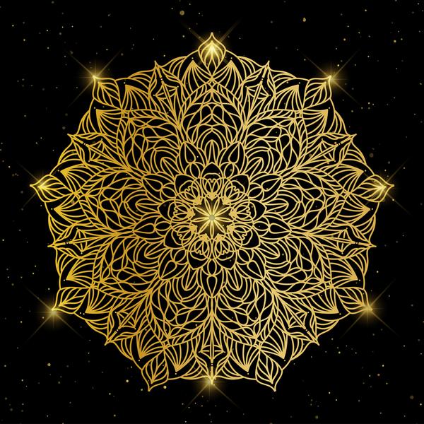ornament golden deluxe