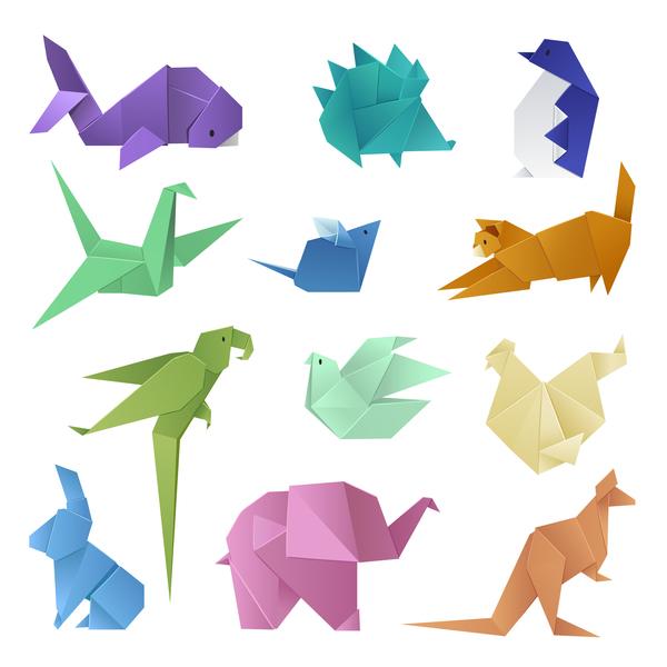 Orgami Dinosaurie