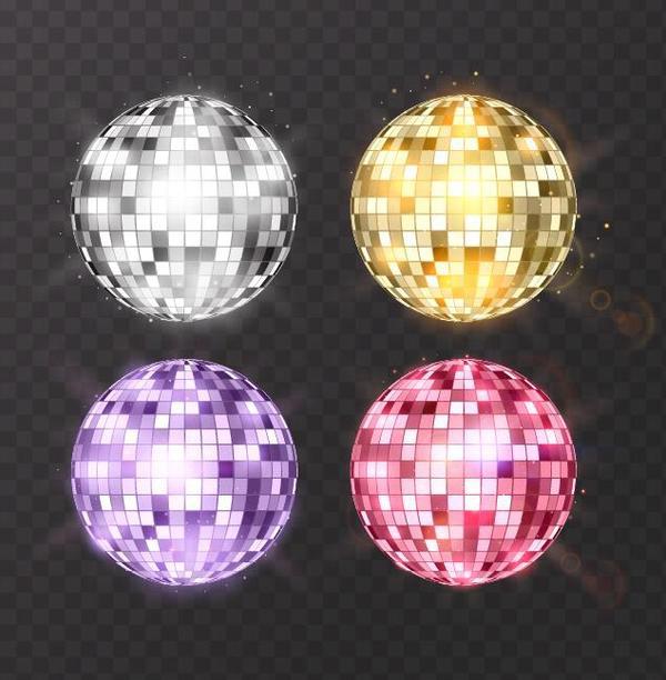 palle neon discoteca