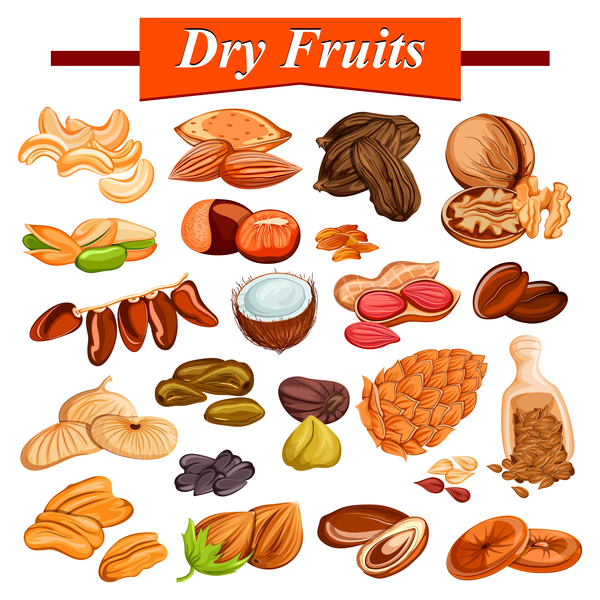 fruits dry