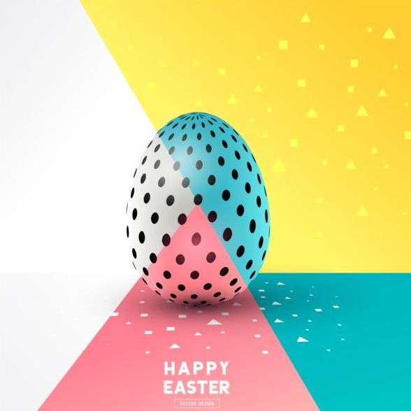 egg easter colored