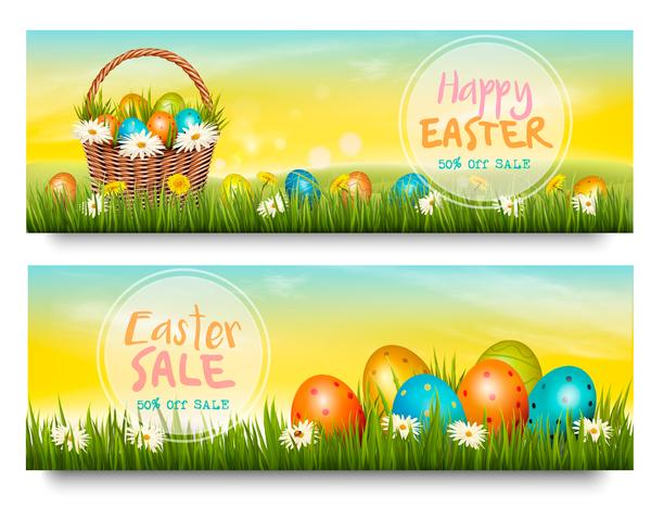 vendita striscioni sconto Pasqua