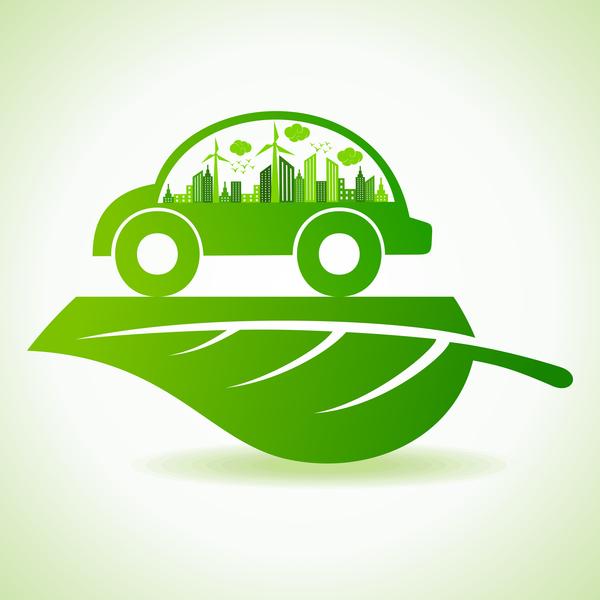 voiture logo eco city