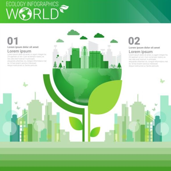 world infographics ecology