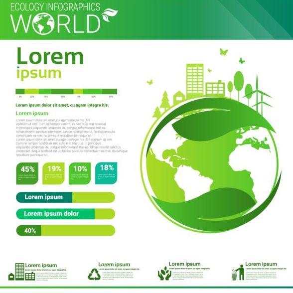 monde infographies écologie