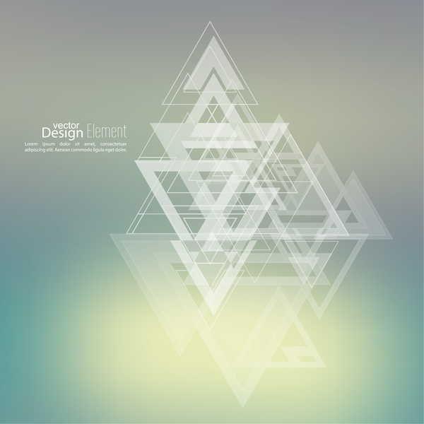 triangel elegant Abstrakt