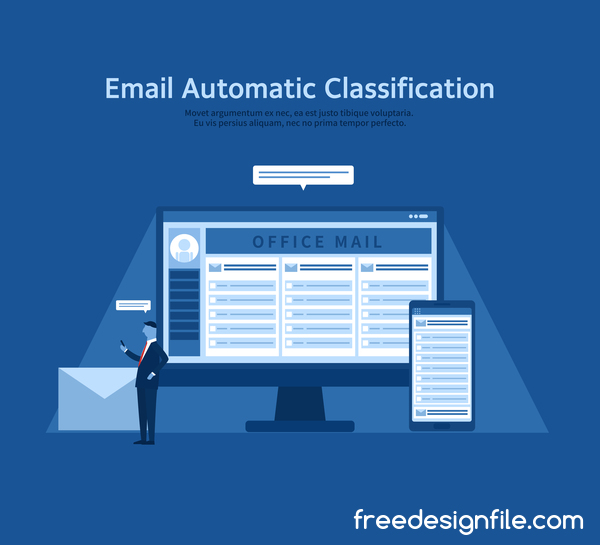 email classification business Automatique
