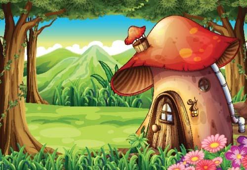物語 家 妖精 世界 キノコ