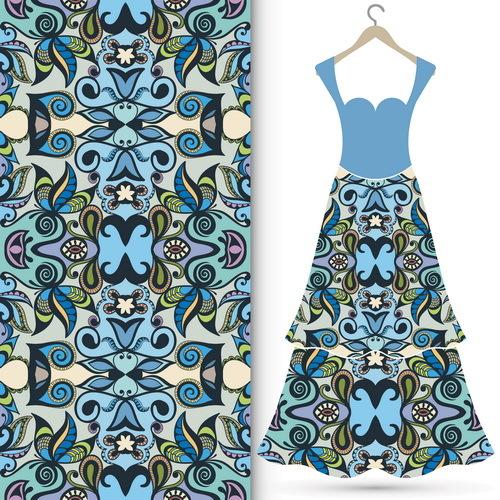 tissu sans soudure robe mode femmes